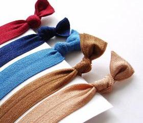 Hair Ties. Fall Colors