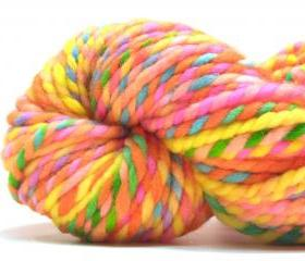 Super bulky rainbow yarn in handpainted merino wool - 40 yards, 2.2 ounces/ 61 grams