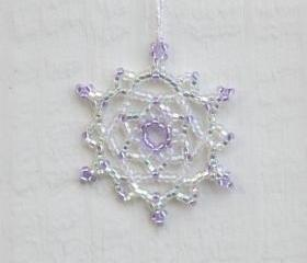 Snowflake Ornament - Holiday Decoration - Teacher Gift