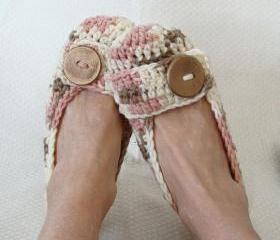 Crochet Women's Slippers