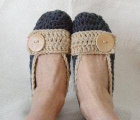 Crochet Slippers Flats
