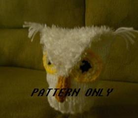 Knitted Owl Hat Pattern