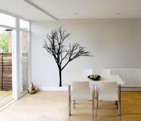 Wall Decal Bare Tree Style 2 Vinyl Wall Decal 22221