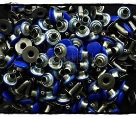 100pcs 7mm Blue Royal Navy Round Rivets Rapid Stud RV2287