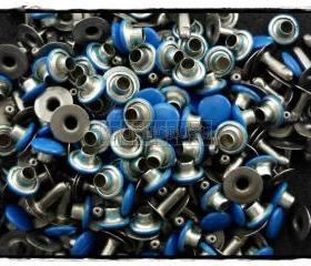  100pcs 7mm Blue Round Rivets Rapid Stud RV2157