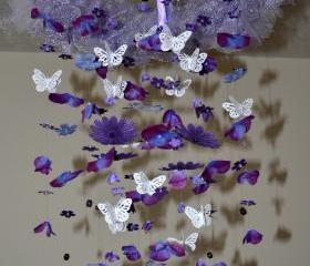 Lavender Dreams (Purple Butterfly mobile)