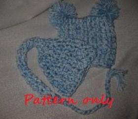 2 in 1 Elf Hat Crochet Pattern
