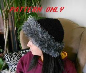 Furry Hat Knitting Pattern
