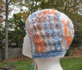 Knit Baby Bonnet- mixed (H21)