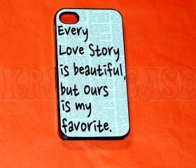iphone 4 Case, iPhone 4s case Every Love Story Love iPhone 4 Cases, Iphone 4s Cover,Case for iPhone 4