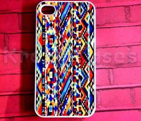 iPhone 4/4s case, The New iPhone, iPhone 4 4s cases Cute Aztec Tribal Geometric Pattern iPhone 4 4s Case For your iphone 4 4s