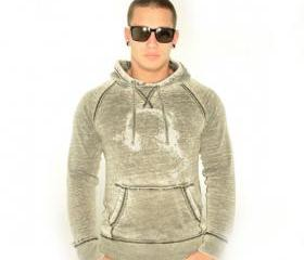 Mens Johnny Fly Platinum Collection Headphone Hoodie