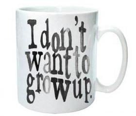 I don't want to grow up Mug