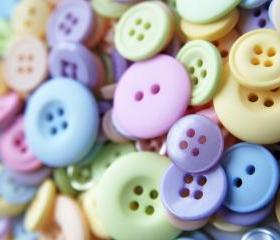 50g Soft Ice Cream Shades of Mixed Buttons