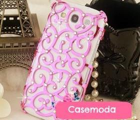 New Bling Relief Rhinestones Samsung Galaxy S3 i9300 Case