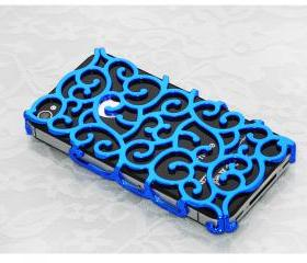 Wire flower case for iPhone 5