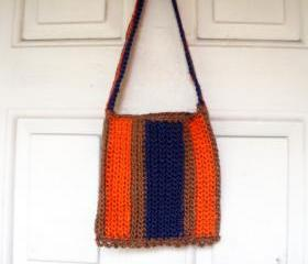 100% Jute Bohemian Crochet Purse...