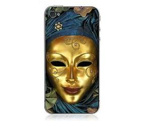 Egypt Mysterious Mask Apple iPhone 4/4S Cases