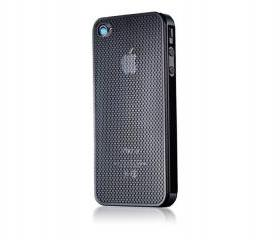Titanium Mesh Hollow Design Ultra Thin iPhone 4/4S Case