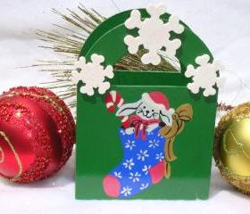 Holiday Gift Bag/ Ornament/ Decoration/ Keepsake