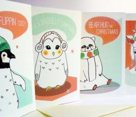 The 'Keep Warm' Christmas Card collection