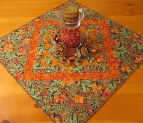 Autumn Pine Cones Table Topper