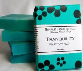 Tranquility Handmade Soap, Simple Indulgence Shea Formula