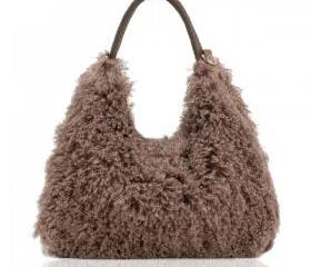 Fluffy Hobo Bag
