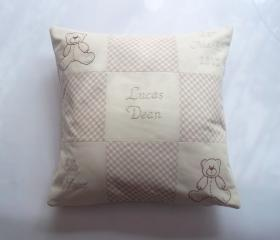 Personalised Baby Cushion