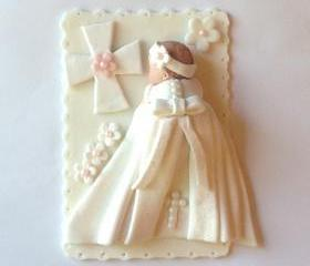 Christening Cake Topper