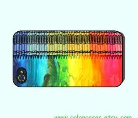 Crayon-- iphone 4 case,iphone 4S case, in durable plastic or silicone rubber case
