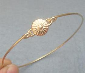 Sun Flower Bangle Bracelet Style 2