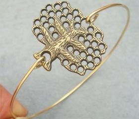 Tree Bangle Bracelet Style 2