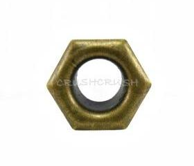  50X10mm Brass OCTAGON Eyelets Scrapbooking SPOTS E21