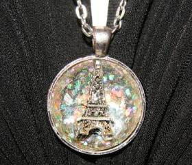 Eiffel Tower 3D Necklace