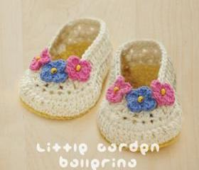Little Garden Ballerina Crochet Pattern, PDF - Chart & Written Pattern