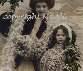 Christmas Time Edwardian Beauties