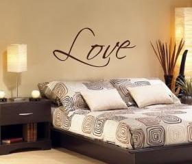 Love Vinyl Wall Decal 22033