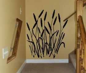 Cattails Vinyl Wall Decal 22100