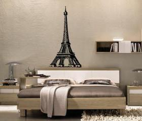 Eiffel Tower Vinyl Wall Decal 22159