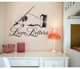 Love Letters Vinyl Wall Decal 22157
