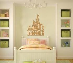 Princess Castle Vinyl Wall Decal 22080