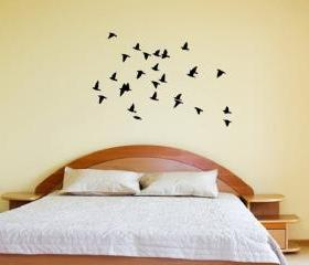 Birds in Flight Vinyl Wall Decal 22163