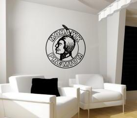 Decal Mohawk Premium Antique Sign 22148