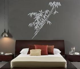 Bamboo Vinyl Wall Decal 22071