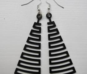 cut the groove - fine - vinyl laser cut earrings