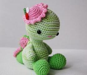 Amigurumi Pattern - Miss Dragon