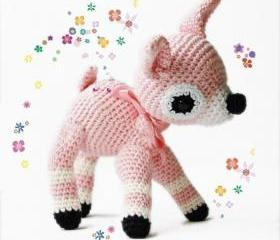 Amigurumi Crochet Pattern - Fawn