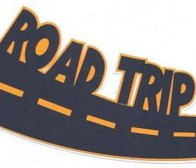 Road Trip Die Cut Embellishment 17169