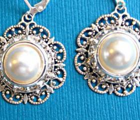 Wedding Earrings, Bridal Jewelry, 'Radiant' Collection, Bridal, Party Jewelry, Gift for Her, Christmas Stocking